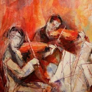 Alleluia, louez le Seigneur - Psalm 150 - String Quartet - Score Cover