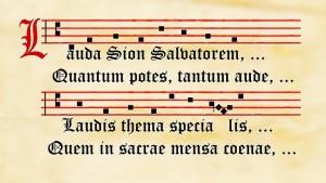 Lauda Sion