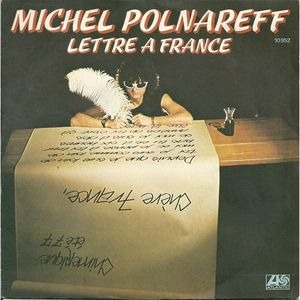 Lettre à France - Michel Polnareff - Favourite Cover
