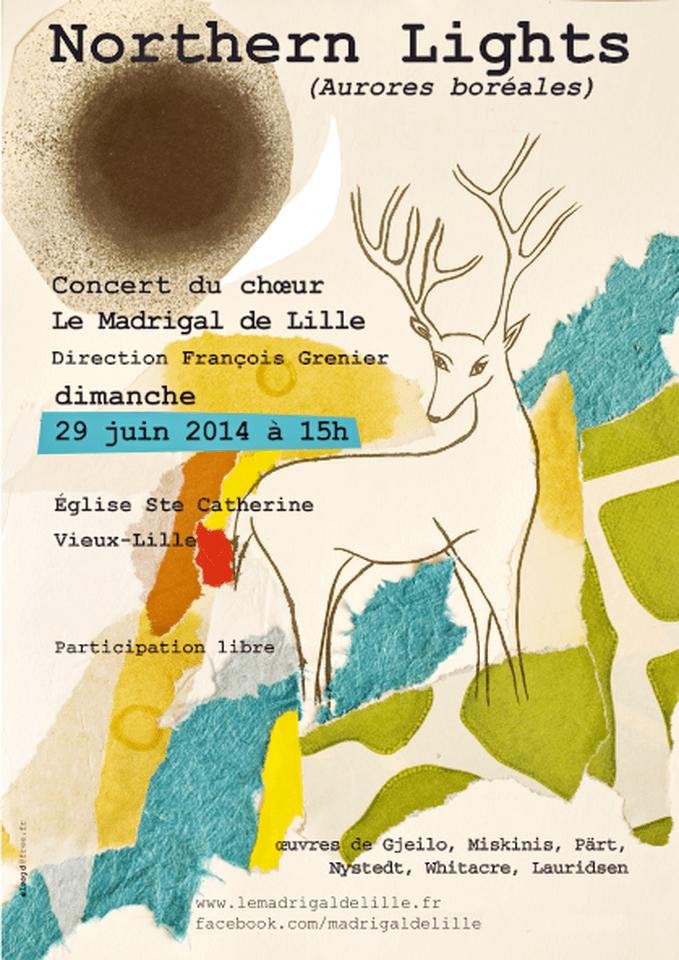 Northen Lights - Event Poster