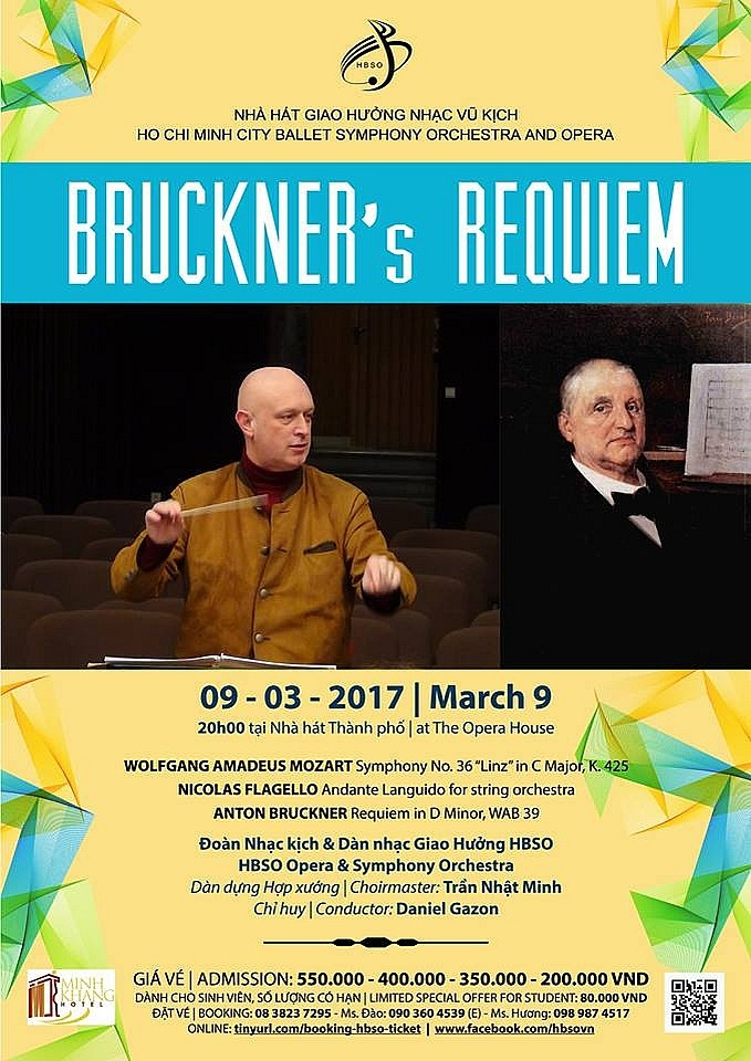 Requiem de Bruckner - The Note Bar - Gregory Notebaert's Composition